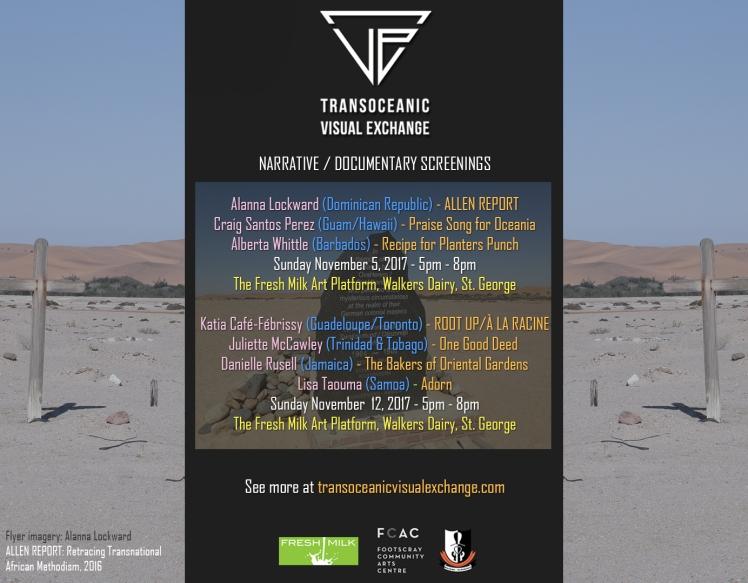 TVE flyer 2017 - Narrative-Documentary Screenings