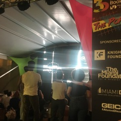 TVE with Third Horizon at the Miami Book Fair
